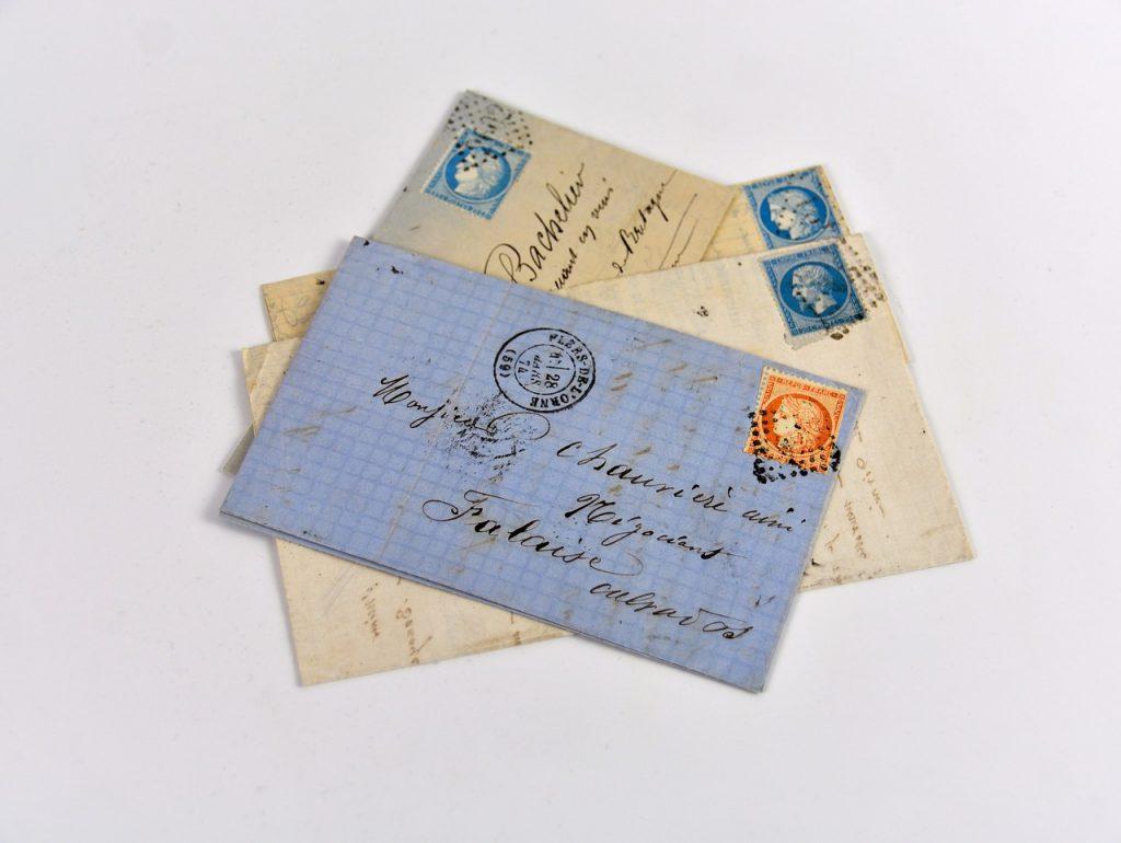 定形郵便のルール