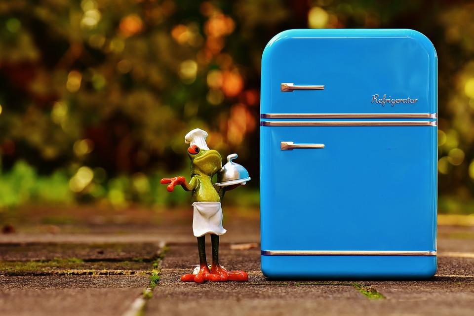 冷蔵庫を使った切手のはがし方