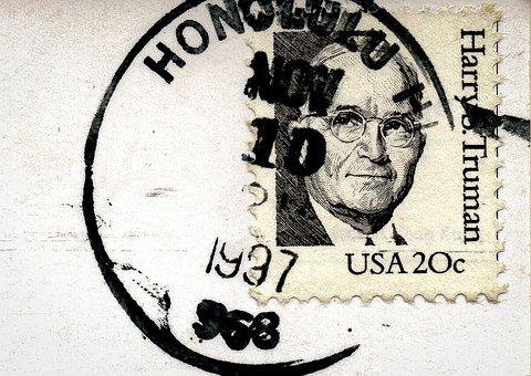 切手を貼る具体的な位置