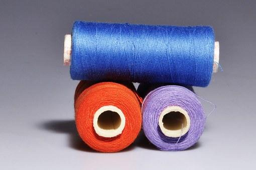 着物の柄の意味⑦:糸巻き