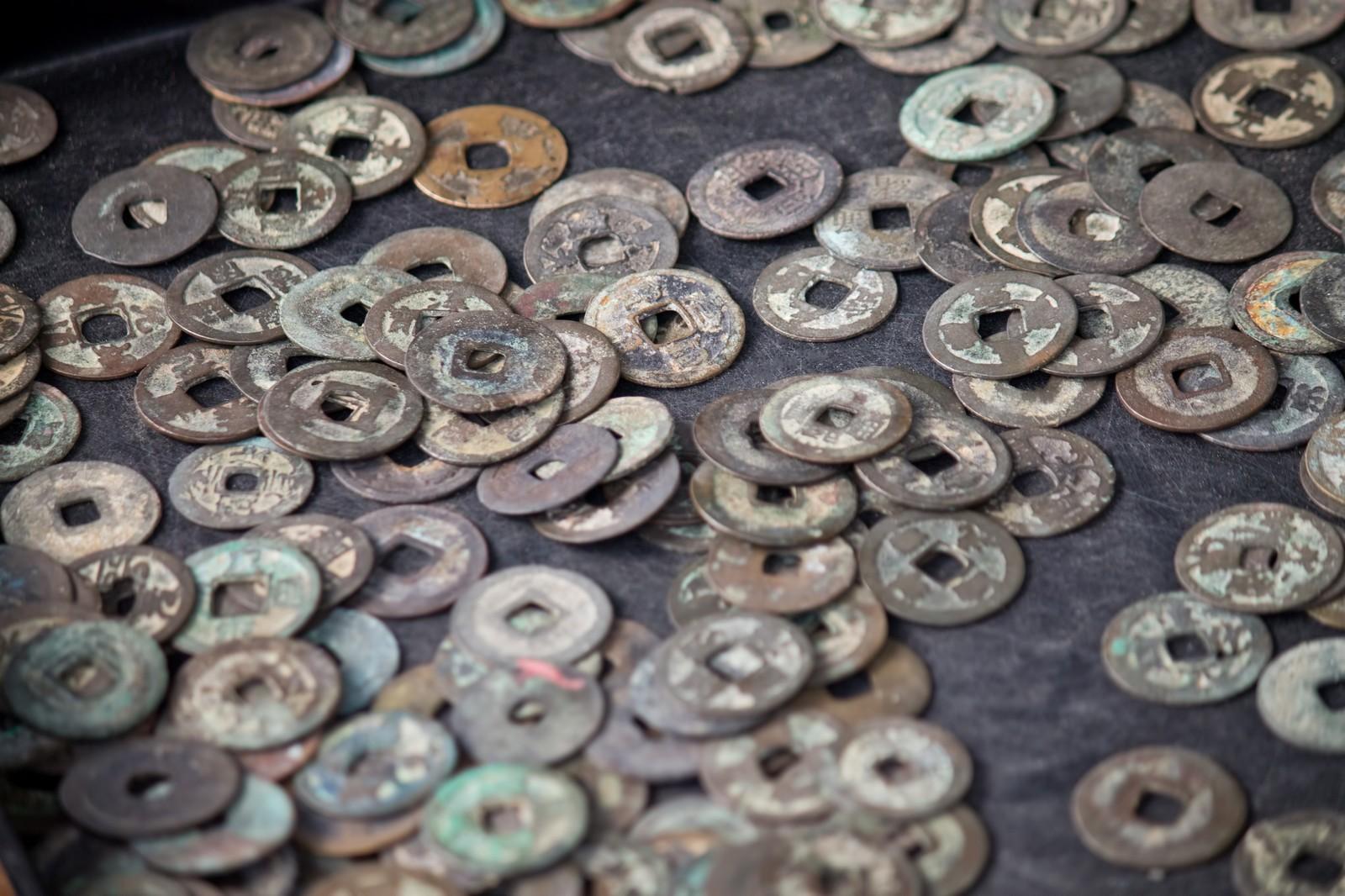 古銭鑑定の流れ