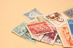 現在の切手の種類
