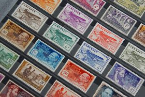 ハガキに応じた切手の値段