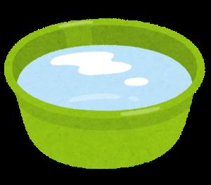 水やぬるま湯につけてはがす方法